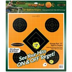 "12"" Orange peel Target"