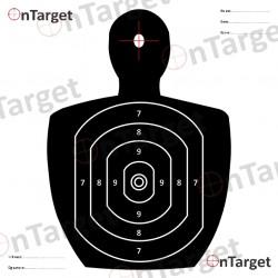 100 17cm Targets