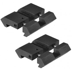 Dovetail to Weaver Adaptor Twin pack