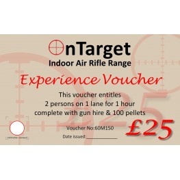 Experience Gift voucher