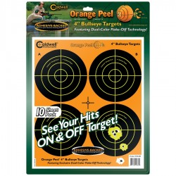 "4"" Orange Peel Targets"