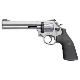 "Smith & Wesson 6"" 586 Nickel"