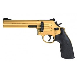 "Smith & Wesson 6"" 586 Gold"